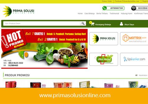 OnlineShop primasolusimedikal.com