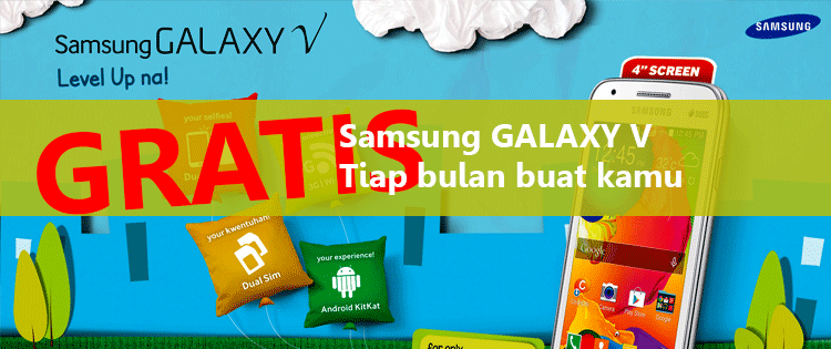 GRAB AND WIN 2 SAMSUNG GALAXY V & 6 BOTTLE OF FRESHCOOL EVERY MONTH